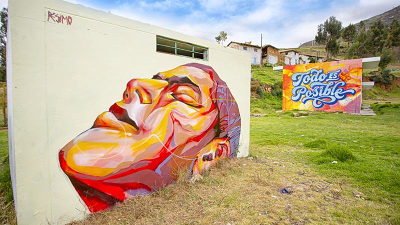 Arte que impacta el espacio público como lienzo artístico | Universidad Continental en Despierta Pucará