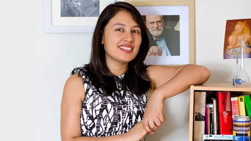 Marilia Baquerizo fundadora de Turing | Universidad Continental